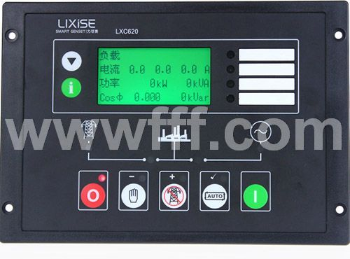 LXC620发电机远程控制器