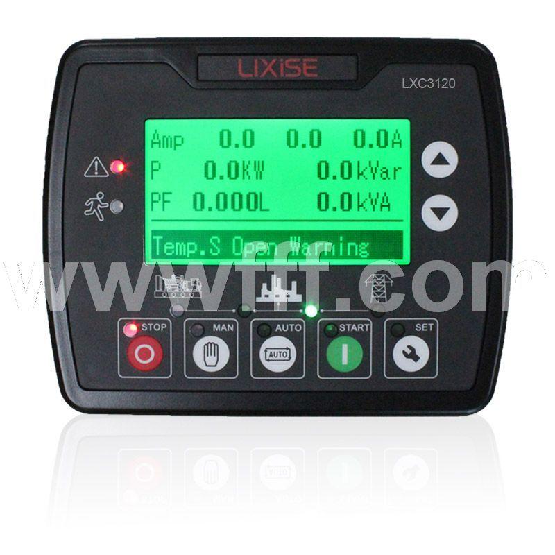 LXC3120发电机控制器自起动模块