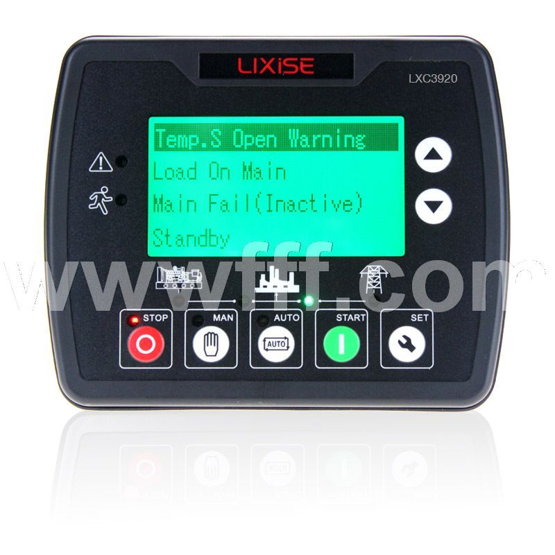 LXC3920发电机远程监控控制器