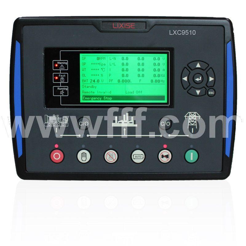 LXC9510发电机组并联控制器